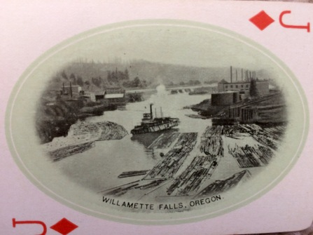 Nearest and dearest to me, our Willamette Falls.