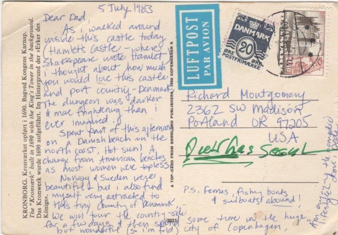 postcard dad
